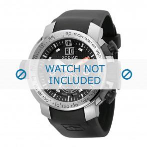 Zodiac horlogeband ZO8505 Rubber Zwart 28mm