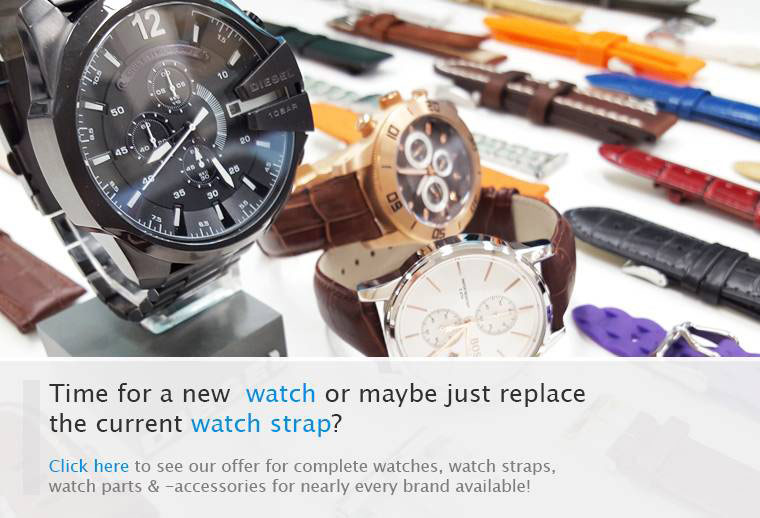 World of Watch Straps - Worldwide delivery of complete watches, watch straps / bands, accessories & tools!