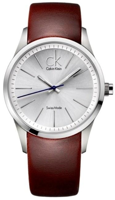 zegarek calvin klein skórzany