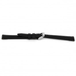 Pasek do zegarka Uniwersalny F146Z Skórzany Czarny 18mm