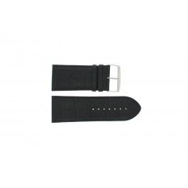 Pasek do zegarka Uniwersalny 305R.01 Skórzany Czarny 34mm