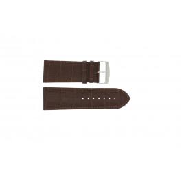 Pasek do zegarka Uniwersalny 305.02 Skórzany Brązowy 30mm
