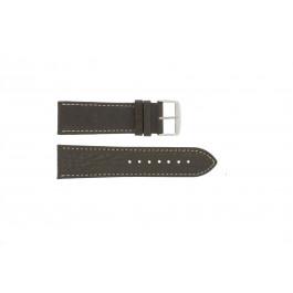 Pasek do zegarka Uniwersalny 307R.02 Skórzany Brązowy 20mm