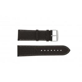 Pasek do zegarka Uniwersalny 307L.02 XL Skórzany Brązowy 22mm