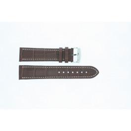 Pasek do zegarka Uniwersalny 308R.02 Skórzany Brązowy 20mm