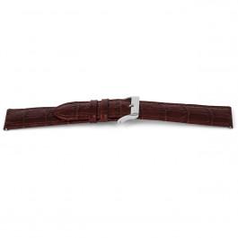 Pasek do zegarka Uniwersalny D340 Skórzany Brązowy 14mm