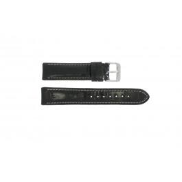 Pasek do zegarka Uniwersalny 61324 Skórzany Czarny 18mm