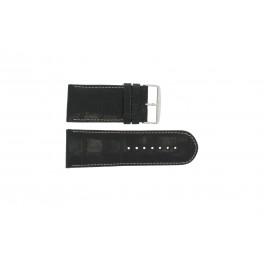 Pasek do zegarka Uniwersalny 61324.24Z Skórzany Czarny 24mm