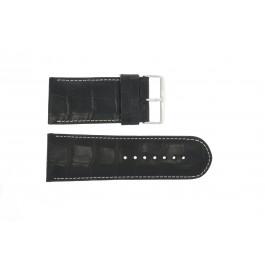 Pasek do zegarka Uniwersalny 61324EB.10.36 Skórzany Czarny 36mm