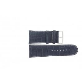 Pasek do zegarka Uniwersalny 61324B.50.36 Skórzany Niebieski 36mm