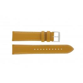 Pasek do zegarka Seiko 7T94-0AV0 / SNN169P1 Skórzany Brązowy 20mm