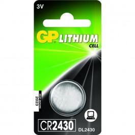 GP Komórka guzikowa Bateria CR2430 - 3v