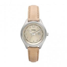 Pasek do zegarka Fossil AM4377 Skórzany Beżowy 14mm