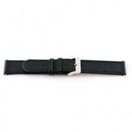 Pasek do zegarka Uniwersalny F100 Skórzany Czarny 18mm