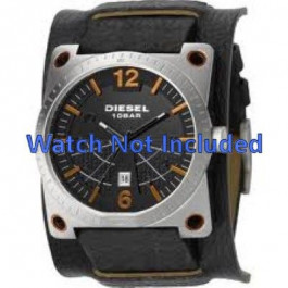 Pasek do zegarka Diesel DZ1212 Skórzany Czarny 28mm