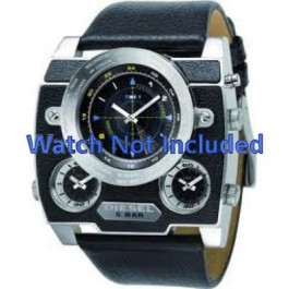 Pasek do zegarka Diesel DZ1243 Skórzany Czarny 37mm