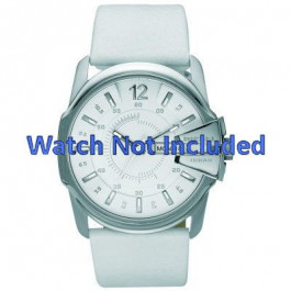 Pasek do zegarka Diesel DZ1405 Skórzany Biały 28mm