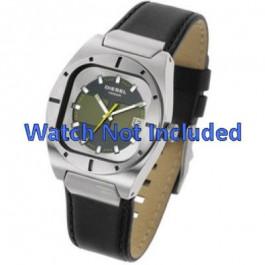 Pasek do zegarka Diesel DZ4112 / DZ4113 Skórzany Czarny 20mm
