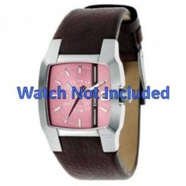Pasek do zegarka Diesel DZ5100 Skórzany Brązowy 18mm