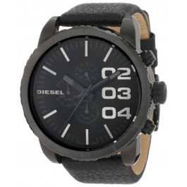 Pasek do zegarka Diesel DZ4216 Skórzany Czarny 26mm