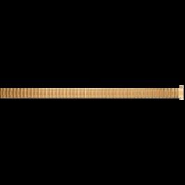Pasek do zegarka Uniwersalny EB607 Stal Pozłacany 8-10mm
