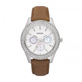 Pasek do zegarka Fossil ES2996 Skórzany Brązowy 18mm