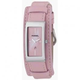 Pasek do zegarka Fossil ES9859 Skórzany Różowy 14mm