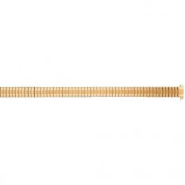 Pasek do zegarka Uniwersalny FEB603 Stal Pozłacany 8-10mm