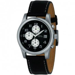 Pasek do zegarka Fossil FS2898 Skórzany Czarny 22mm
