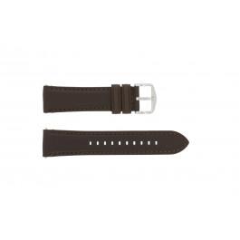 Pasek do zegarka Fossil FS4735 / FS4813 Skórzany Brązowy 22mm