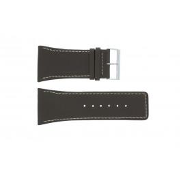 Pasek do zegarka Uniwersalny P310 Skórzany Brązowy 38mm