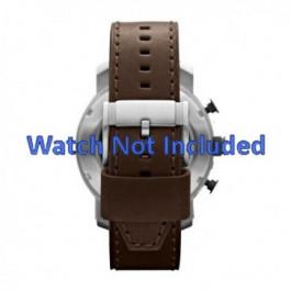 Pasek do zegarka Fossil JR1390 Skórzany Brązowy 24mm