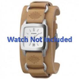Pasek do zegarka Fossil JR8300 Skórzany Brązowy 16mm
