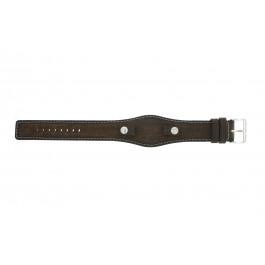 Pasek do zegarka Fossil JR8130 Skórzany Brązowy 10mm