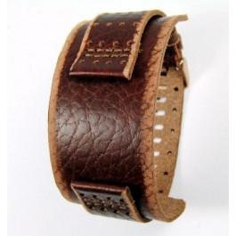 Pasek do zegarka Fossil JR9040 Skórzany Brązowy 22mm