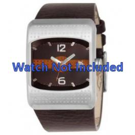 Pasek do zegarka Fossil JR9389 Skórzany Brązowy 16mm