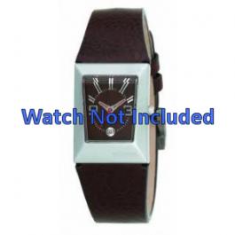 Pasek do zegarka Fossil JR9407 Skórzany Brązowy 20mm