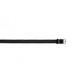 Pasek do zegarka Uniwersalny PRLN.10.Z Nylon/perlon Czarny 10mm