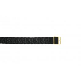 Pasek do zegarka Uniwersalny PRLN.14 Nylon/perlon Czarny 14mm