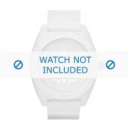 Adidas Pasek Do Zegarka Adh2711 Silikon Biały 24mm