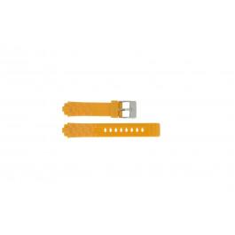 Adidas Pasek Do Zegarka Adh2105 Guma Pomarańczowy 18mm