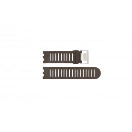 Pasek do zegarka Alessi AL14001 Skórzany Brązowy 25mm