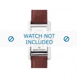 Pasek do zegarka Armani AR0104 Skórzany Koniak 18mm