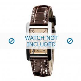 Pasek do zegarka Armani AR0155 Skórzany Brązowy 18mm