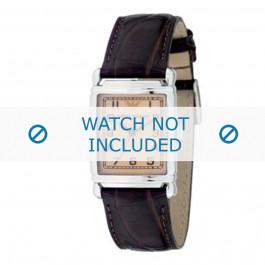 Pasek do zegarka Armani AR0204 Skórzany Brązowy 18mm
