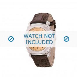 Pasek do zegarka Armani AR0286 Skórzany Brązowy 24mm