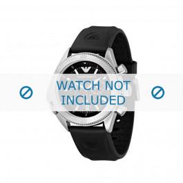 Pasek do zegarka Armani AR0548 Gumowy Czarny 23mm