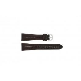 Pasek do zegarka Armani AR0248 XL Skórzany Brązowy 22mm