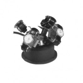 Nawijarka do zegarków automatycznych - odpowiednia na 4 zegarki - czarna
