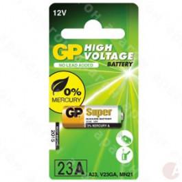 GP Inne baterie Bateria 23AE / A23 / V23GA / MS21 / MN21 - 12v